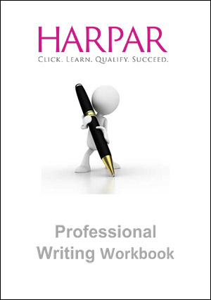 Professional Writing Workbook- Harper