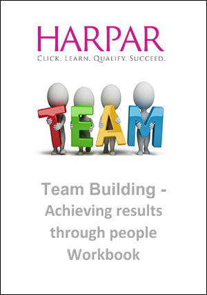 Harpar Team Building-Achieve results through people workbook