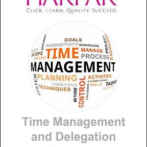 Harper time management and delegation workbook