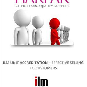 title-cover-ILM-UNIT-ACCREDITATION-EFFECTIVE-SELLING-TO-CUSTOMERS-