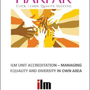 title-cover-ILM-UNIT-ACCREDITATION-MANAGING-EQUALITY-AND-DIVERSITY-IN-OWN-AREA--