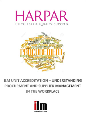 Harpar-ILM-UNIT-ACCREDITATION-UNDERSTANDING-PROCURMENT-AND-SUPPLIER-MANAGEMENT-IN-THE-WORKPLACE-