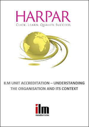 Harpar-ILM-UNIT-ACCREDITATION-UNDERSTANDING-THE-ORGANISATION-AND-ITS-CONTEXT