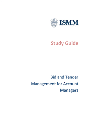 ISMM-Study Guide-Bid-and-tender-management-for-account-managers