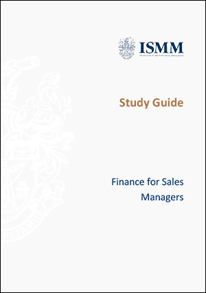 ISMM Study Guide- Finance-for-sales-managers