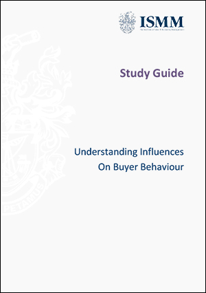 ISMM Study Guide-Understanding-influences-on-buyer-behaviour